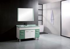 人造花纹浴室柜_1328
