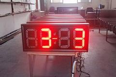 LED clock  thermometer