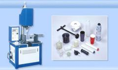 PP塑胶旋熔机,水杯旋熔机.过滤器旋熔机设备