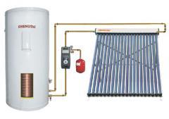 分体承压太阳能热水器系统