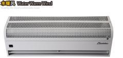 H  eat  air cutain-Water warm wind machine