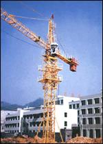 Cranes tower with upper rotary device