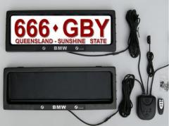 Stealth License Plate Frame  135314-854