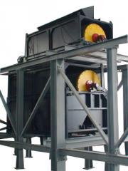 Dry Permenant Magnetic Drum Separator