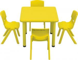 YL-452A幼儿园桌椅塑料正方