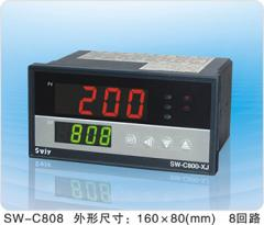 SW-C808系列智能数字显示巡检测仪