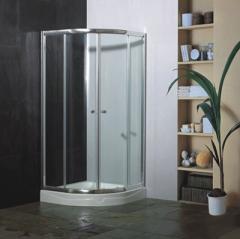 圆弧型淋浴房-01