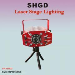 红色激光舞台灯