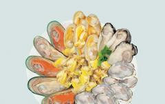 贝类(蛤肉,贻贝肉)