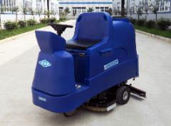 瑞捷750电动驾驶式洗地机