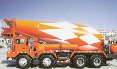 前卸料混凝土搅拌运输车
