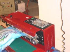 Packing equipment, vacuum package