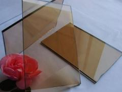 Bronze tinted glass