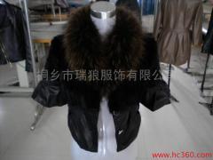 Raw fur