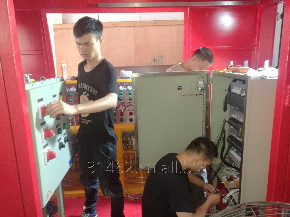 container_skid_hydraulic_control_panel