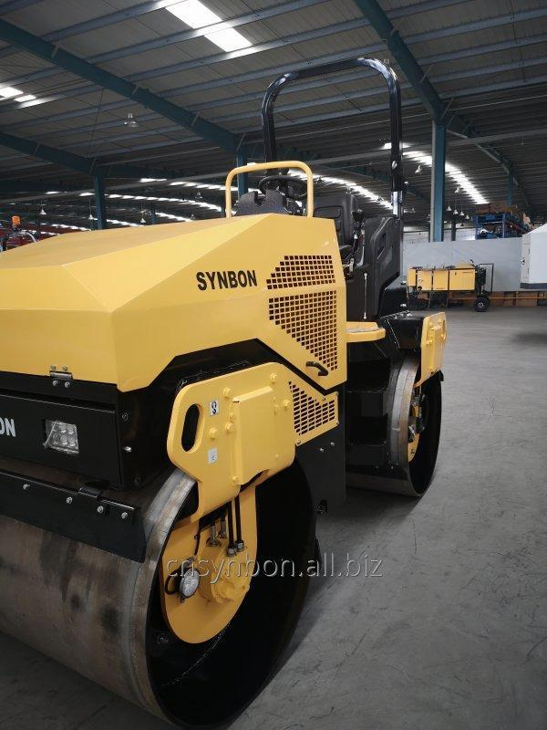 synbon_double_drum_vibratory_roller_sy204h