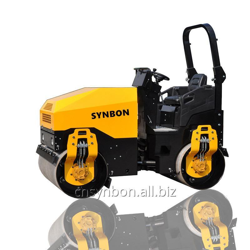 synbon_double_drum_vibratory_roller_sy203h