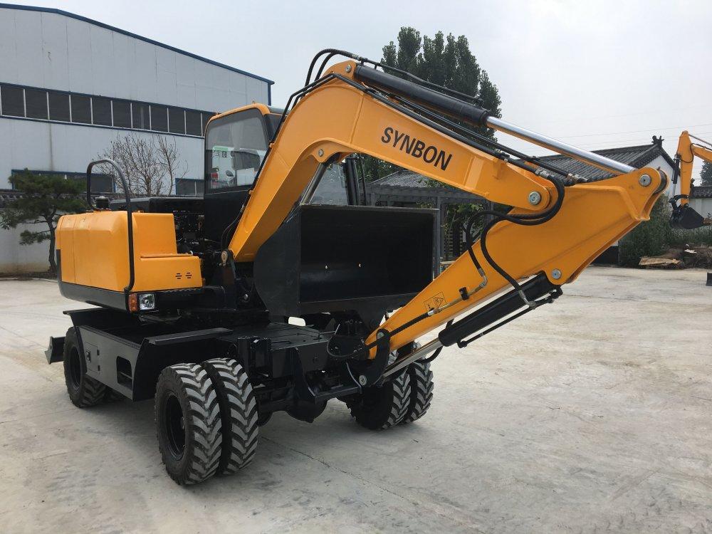 synbon_new_wheel_excavator_syl607e_7ton_wheel
