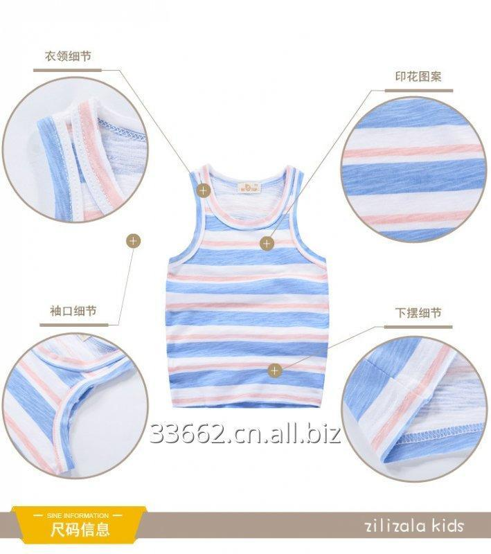 free_shipping_childrens_cotton_vest_top_kids