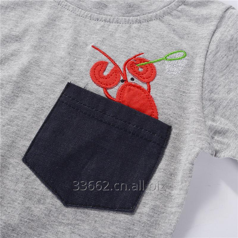 free_shipping_childrens_short_sleeve_cotton_t
