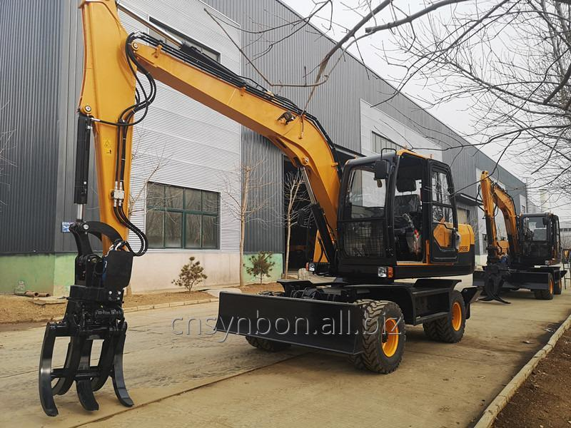 synbon_high_quality_low_price_wheel_excavators