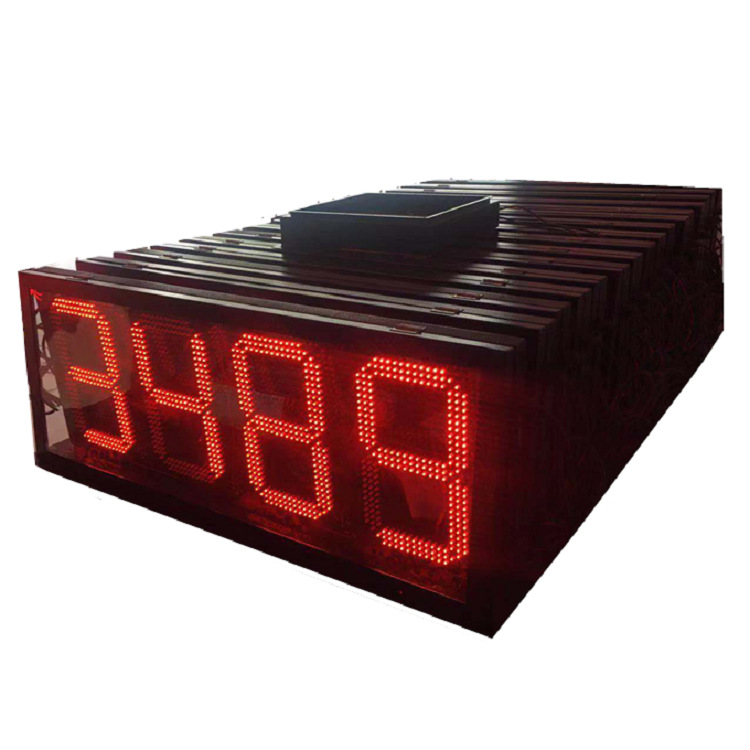 led_display_of_gas_station