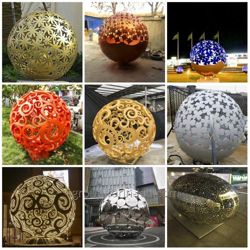 city_tracery_sculpture_custom_made_balls_in_china