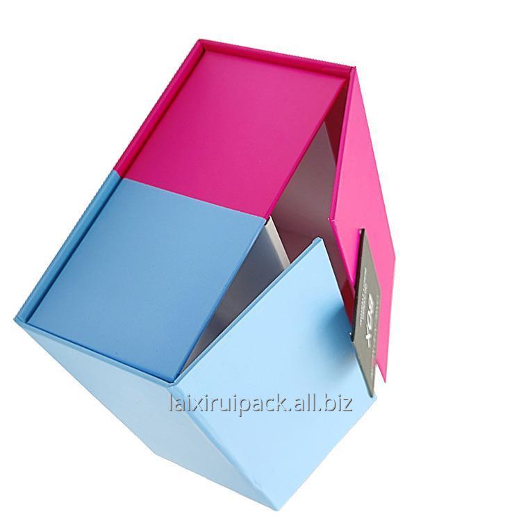 custom_fashion_recycle_purple_blue_cardboard_paper