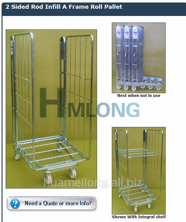 by_07_zinc_plated_storage_wire_mesh_roll_cages