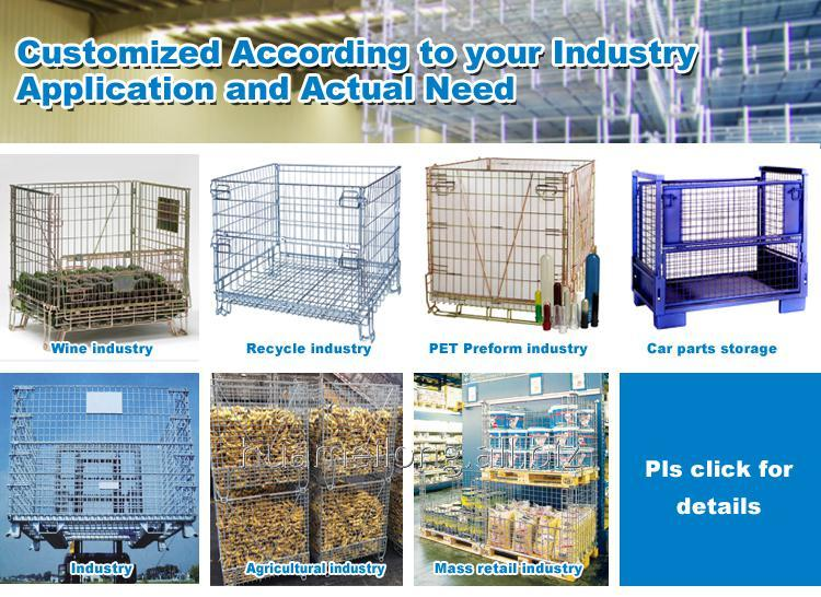 f_4_foldable_steel_storage_stacking_pallet_cage