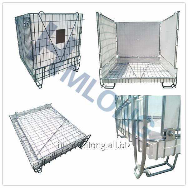 f_28_pet_preform_storage_metal_wire_mesh_container