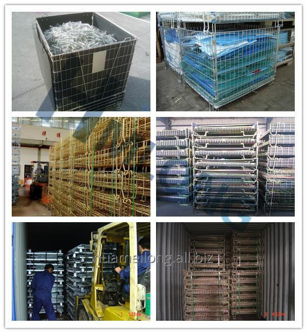 f_22_pet_preform_storage_metal_wire_mesh_cage