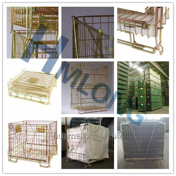 f_22_pet_preform_storage_metal_wire_mesh_box