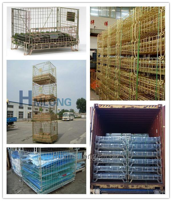 f_1_industrial_wire_mesh_folding_storage_cage_for