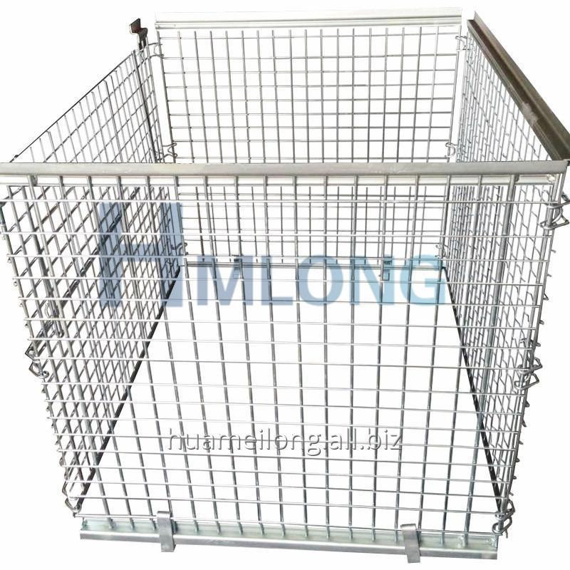 nf_1_warehouse_folding_wrie_mesh_steel_cage