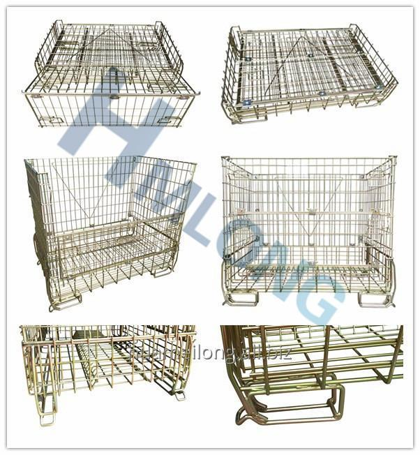 f_16_warehouse_folding_wrie_mesh_steel_cage