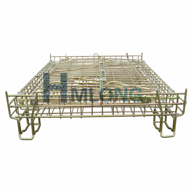 f_10_warehouse_folding_storage_mesh_stillage_cage