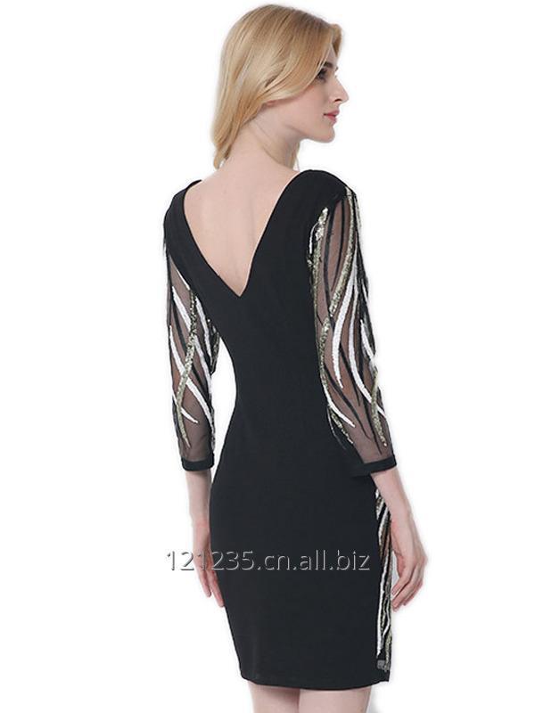 women_summer_v_neck_sexy_sequin_mini_dress