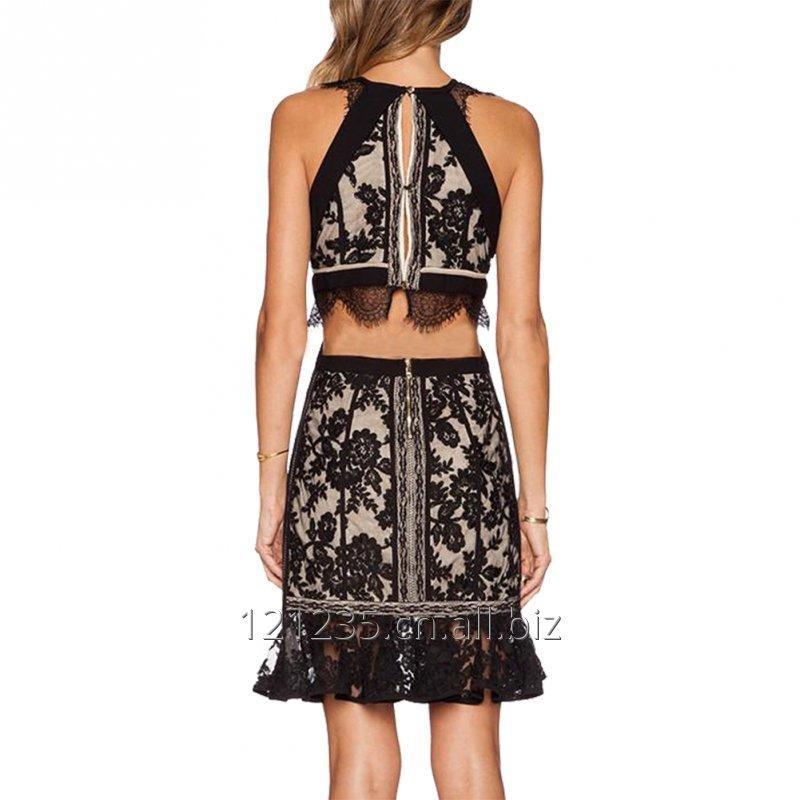 womens_fancy_prom_dress_lace_sleeveless_party