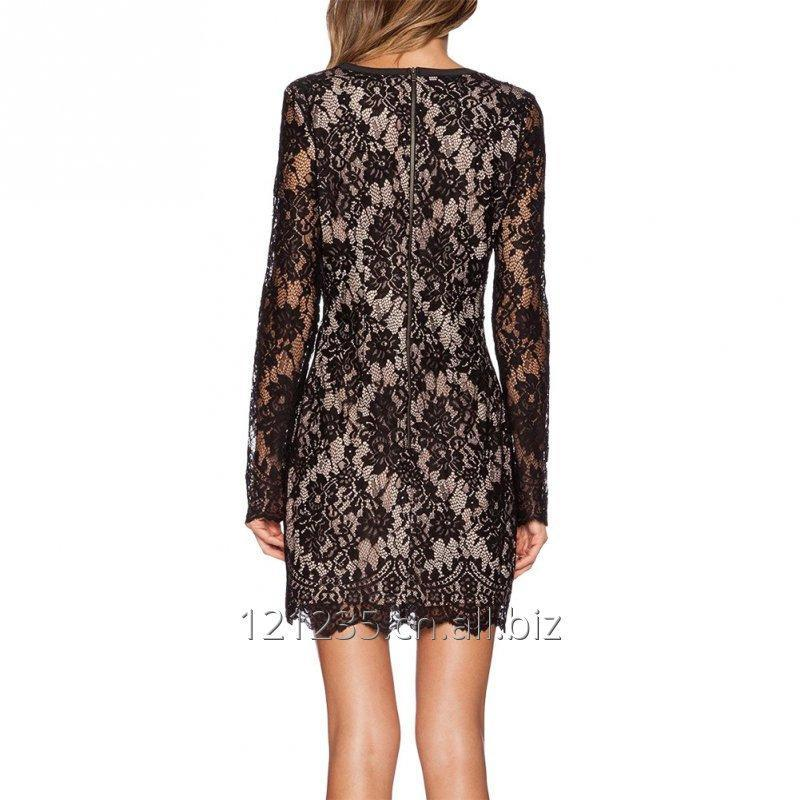 womens_fancy_evening_dress_sexy_floral_lace_v_neck