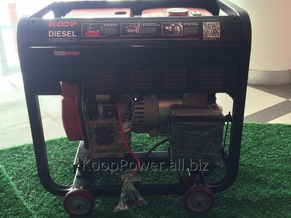 Koop Diesel Generator KDF11000XE 8kva-2017 New Power