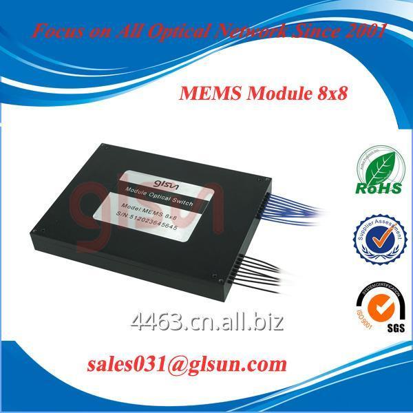 glsun_8x8_mems_fiber_optical_switch_mems_module