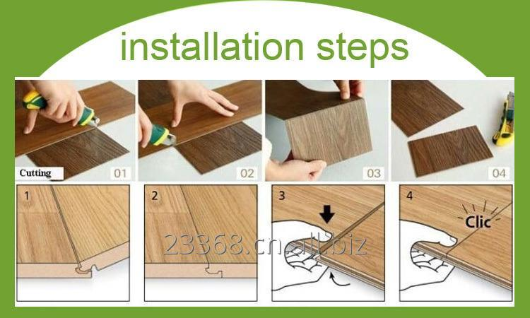 vinyl_flooring_unique_caremel_brown_color_wooden