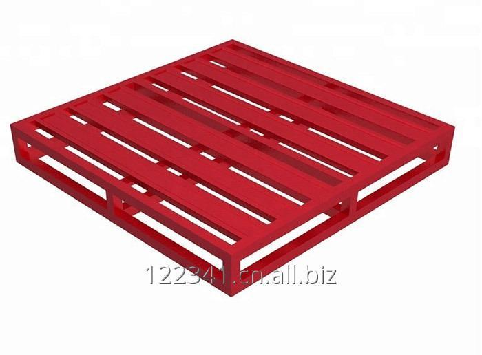 customized_4_way_double_faced_steel_pallet