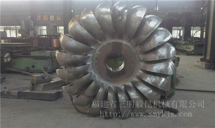 hydraulic_pelton_turbine_wheelrunner_for_power
