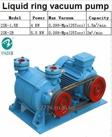 2sk_15b_4kw_belt_driven_two_stage_liquid_ring