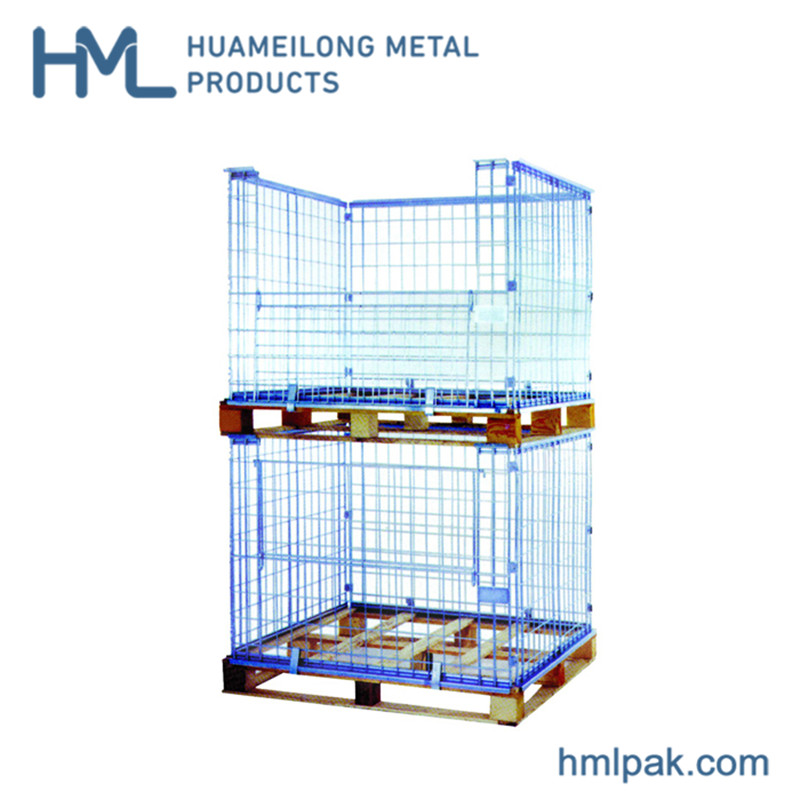 foldable_stackable_collapsible_storage_galvanized