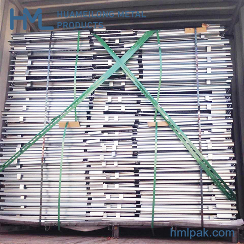 foldable_euro_wire_mesh_pallet_bin_cage_for