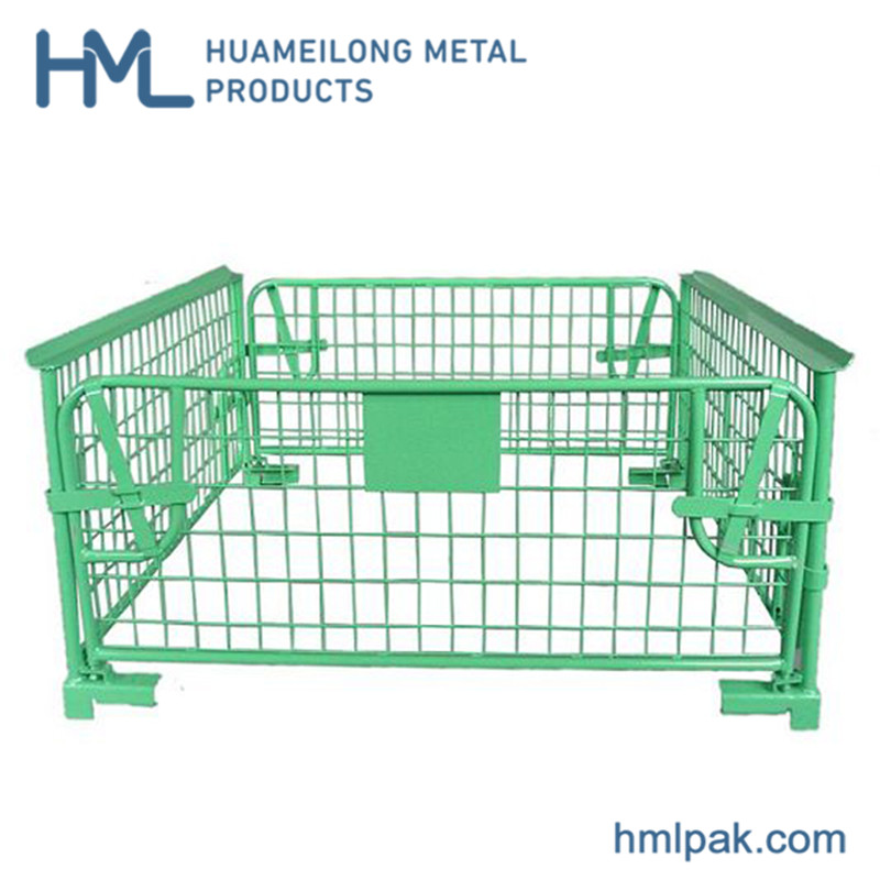 collapsible_steel_galvanized_gravity_lock_design