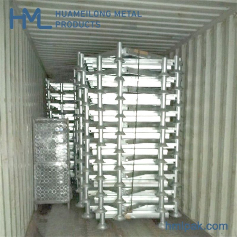 collapsible_portable_post_pallet_for_warehouse